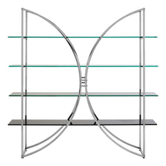 Serena Curved Shelf Unit