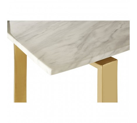 Marble and Gold Dining Table
