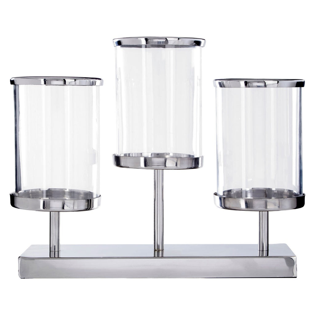 Townhouse 3 Light Candle Holder