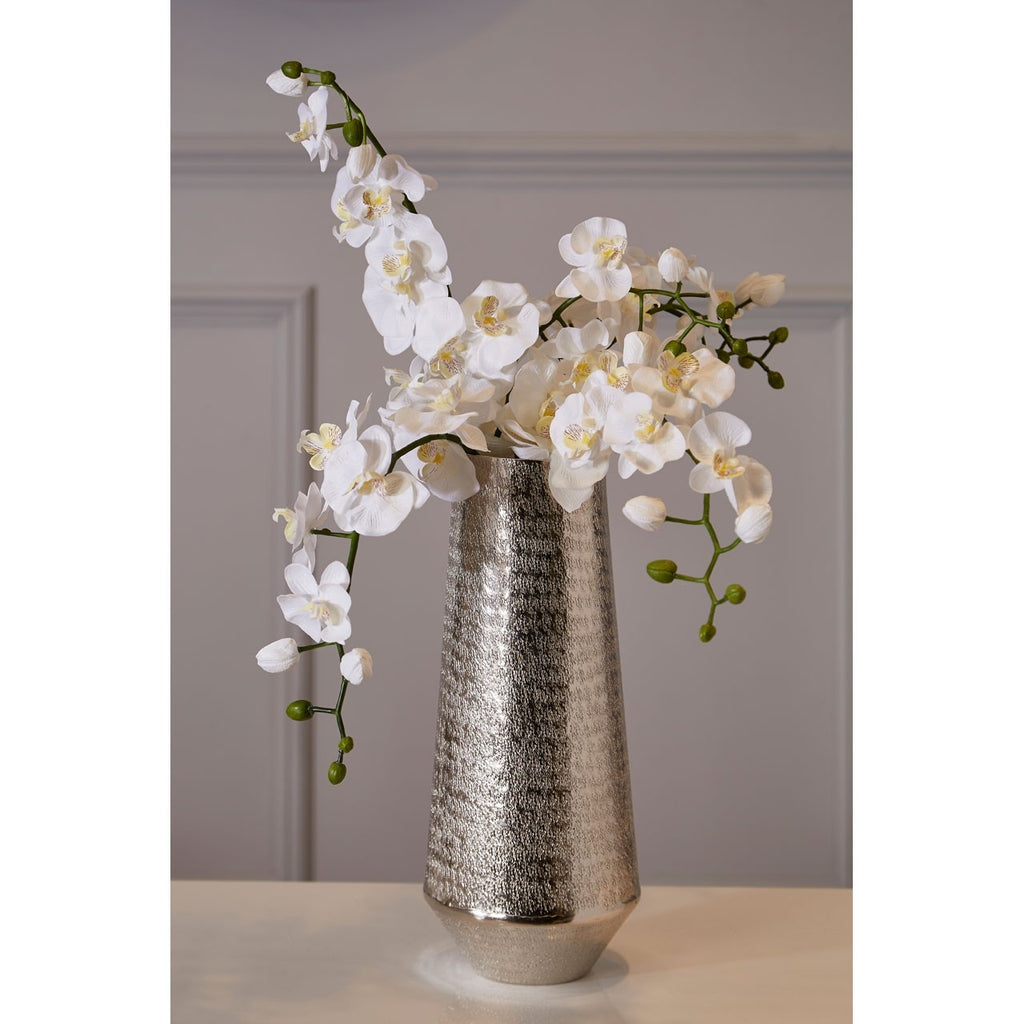 Livia Small Metallic Vase