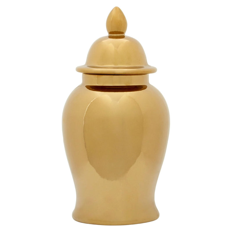 Townhouse Large Gold Jar
