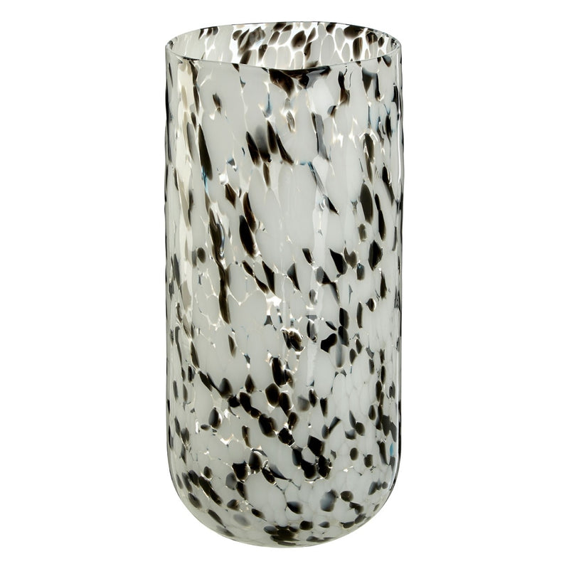 Large Speckled Glass Vase