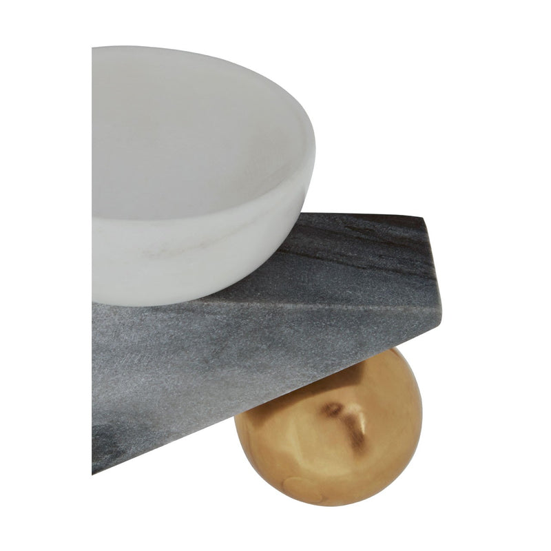 Abstract Marble Trinket Dish
