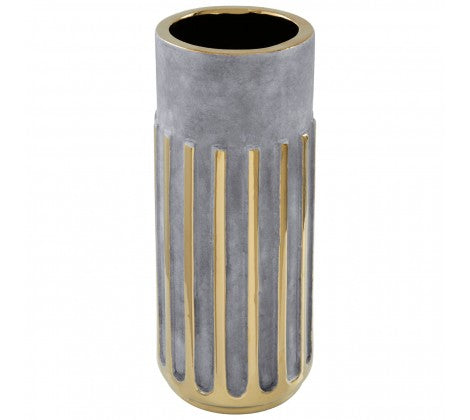 Gold Stripe Vase