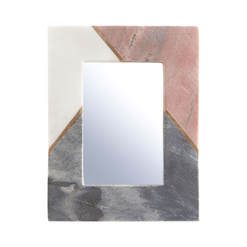 Pink and Grey Marble Photo Frame