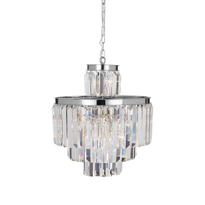 Silver Townhouse Pendant Light