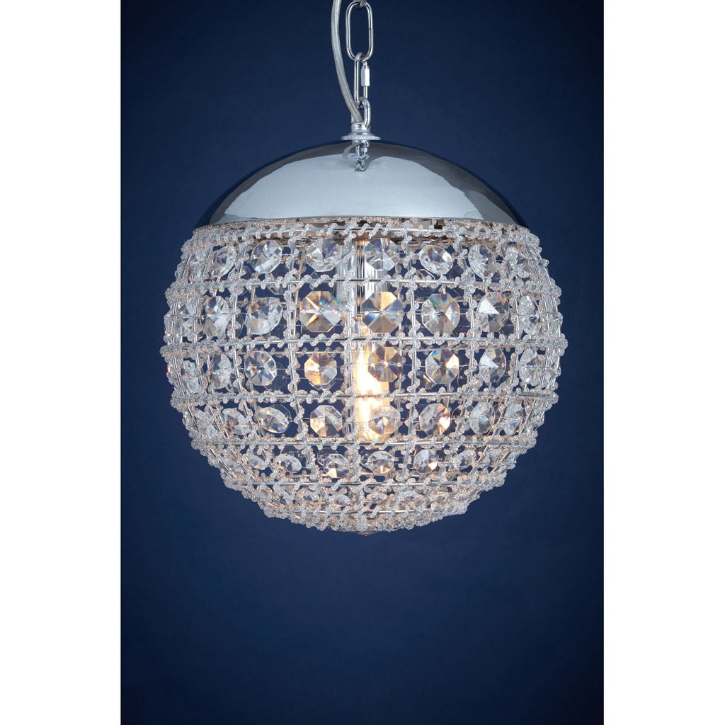 Infinity Crystal Chandelier