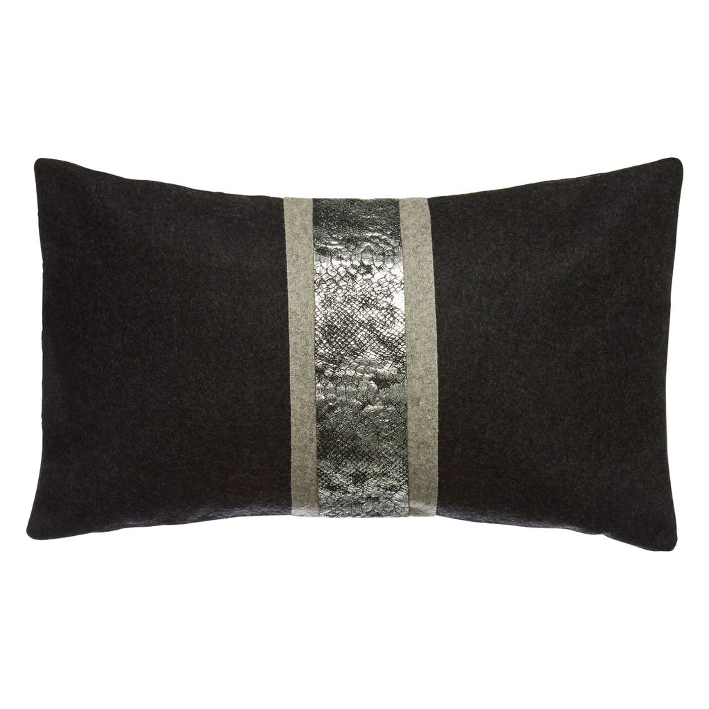 Snakeskin Effect Cushion