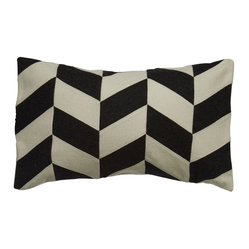 Chevron Design Rectangular Cushion