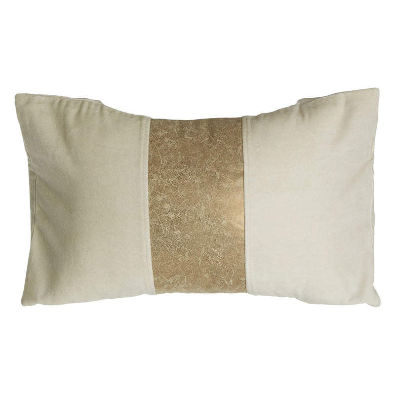 Crushed Gold Effect Cushion