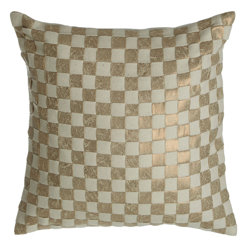 Townhouse Checker Cushion