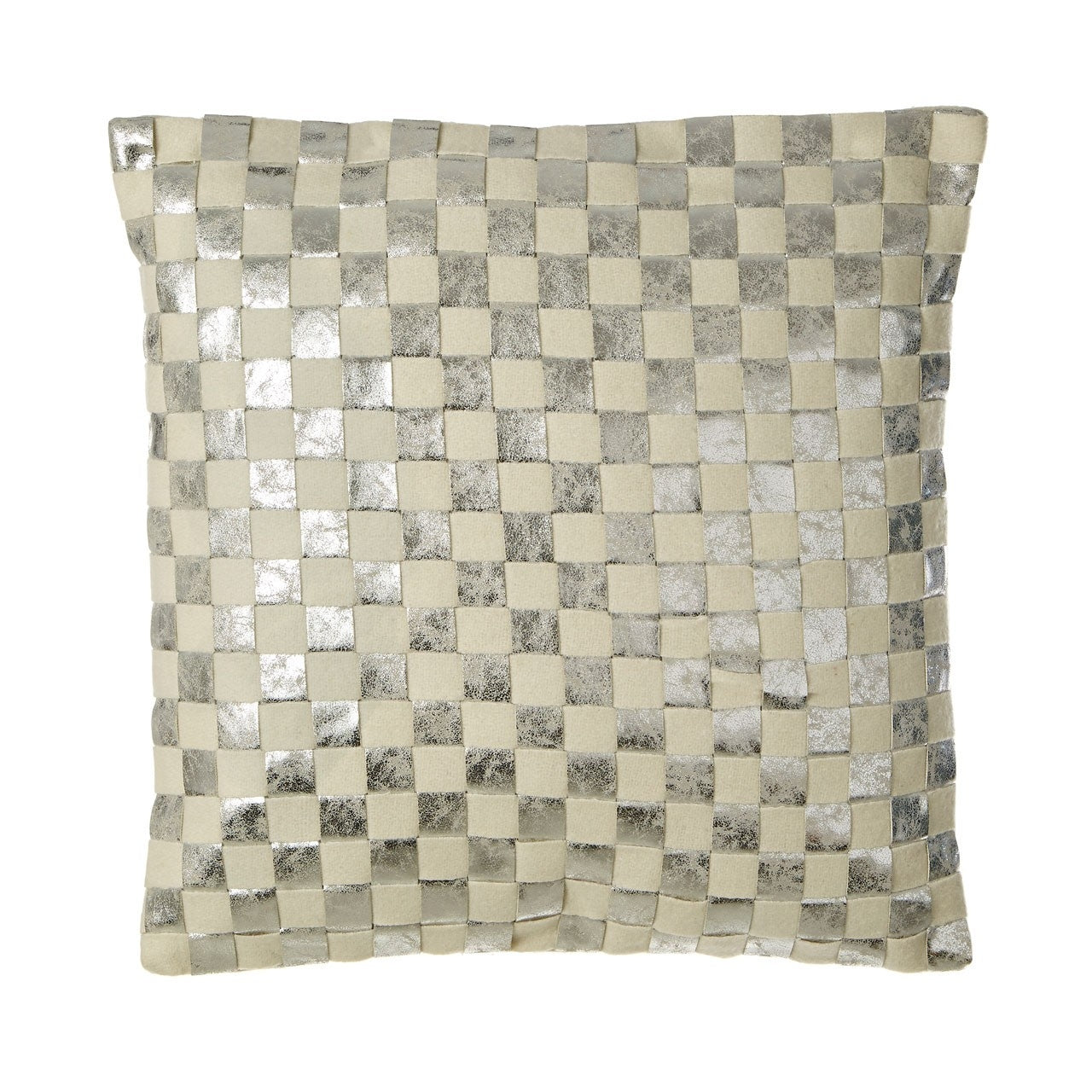 Square Checkerboard Cushion