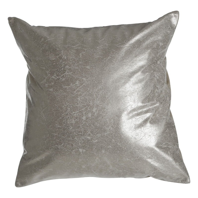 Silver Effect Cushion