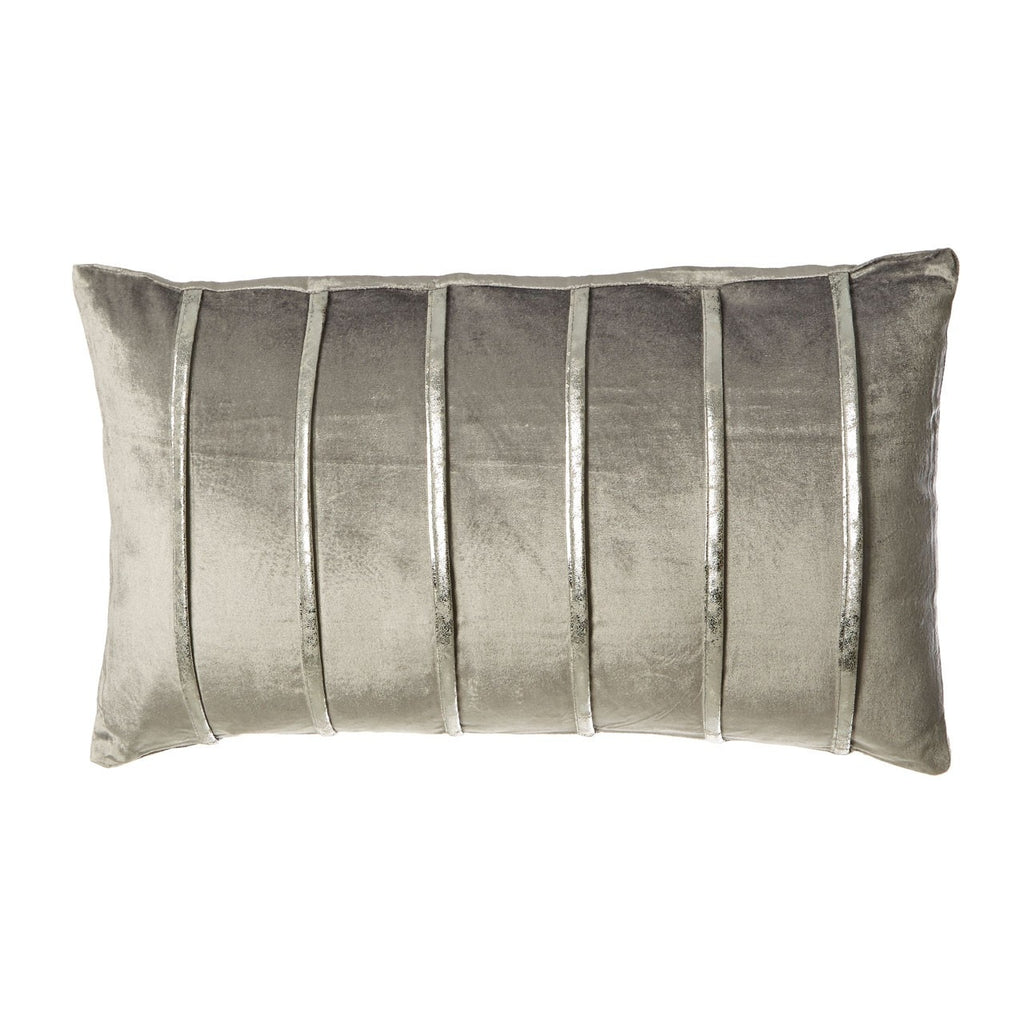Light Grey Stripe Cushion