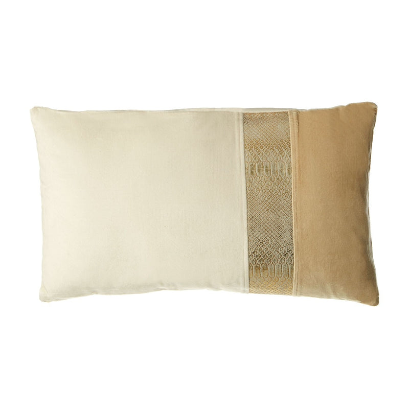 Townhouse Squares Rectangular Cushion