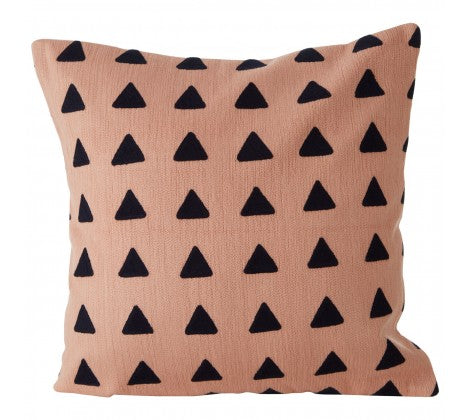 Pink Triangle Cushion