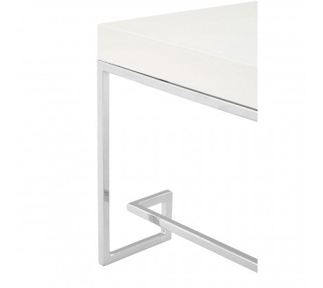Palmer Chrome Coffee Table