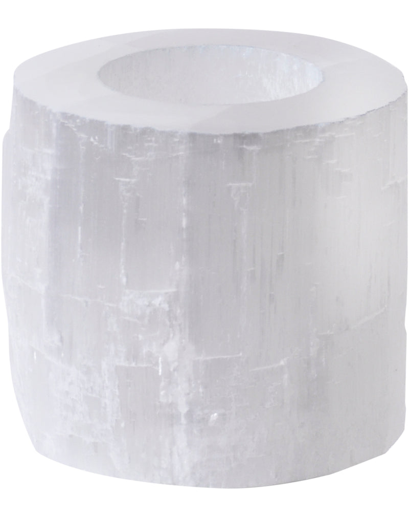 Small Selenite Tealight Holder