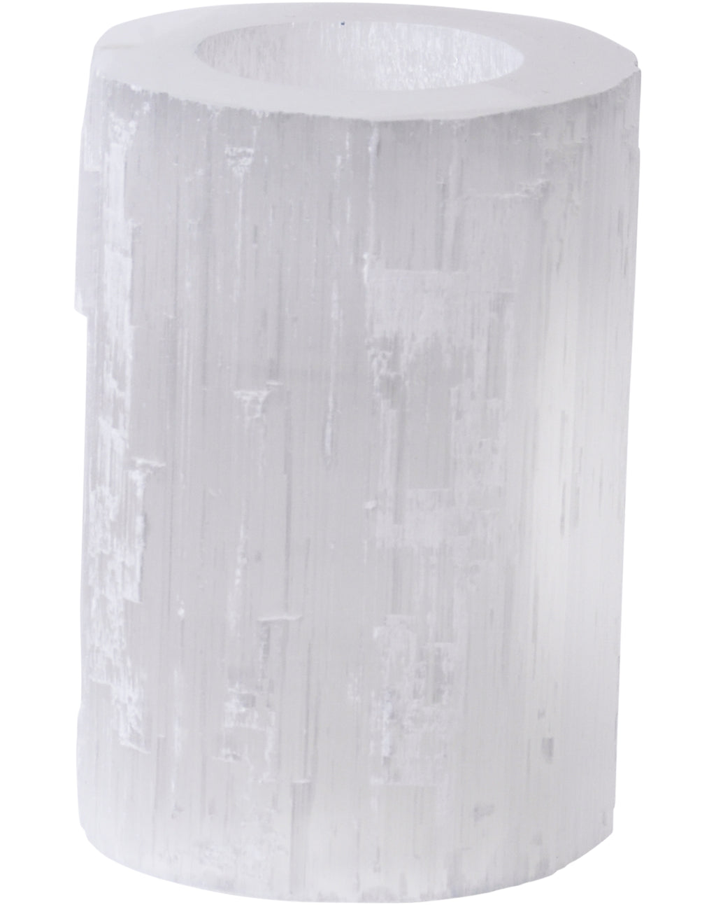 Medium Selenite Tealight Holder