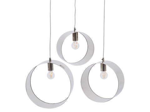 Set of 3 Gold Pendant Light