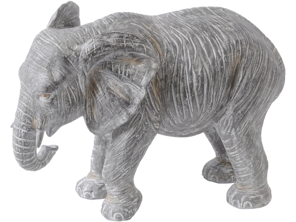 Grey Elephant Sculpture