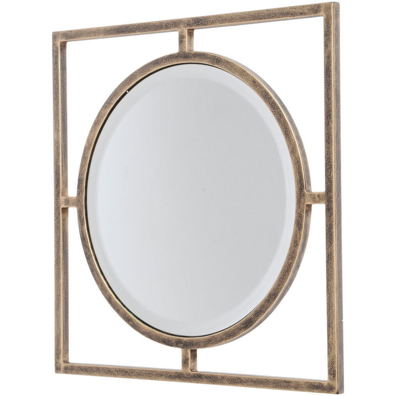 Square Link Wall Mirror