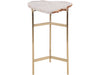 Gold Agate Side Table