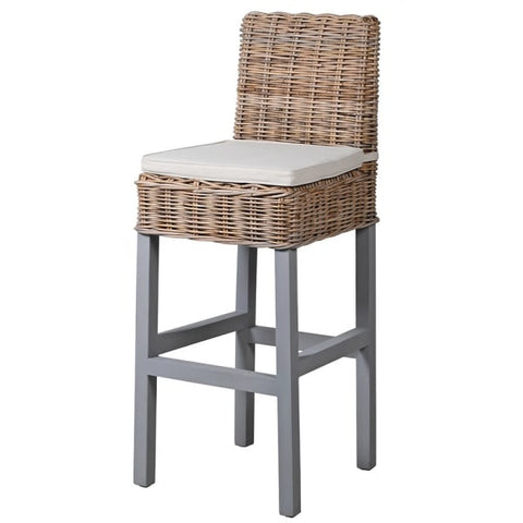 Leo Grey Bar Stool