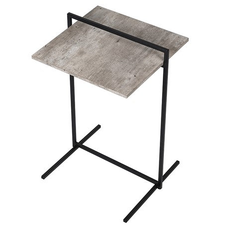 Black Frame Side Table