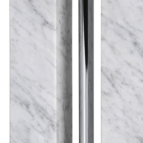 Twin Column Marble Lamp