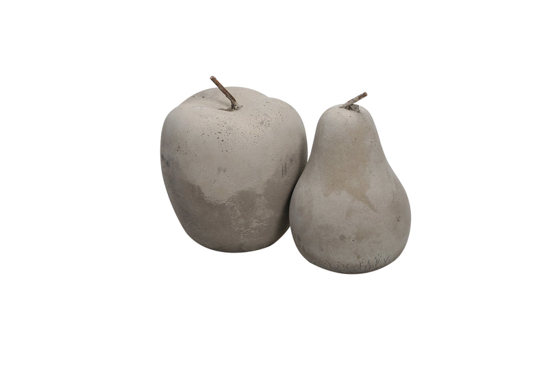 Cement Apple and Pear