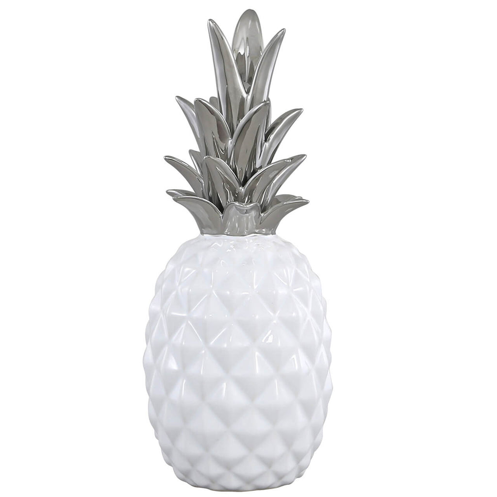 White Pineapple Decoration
