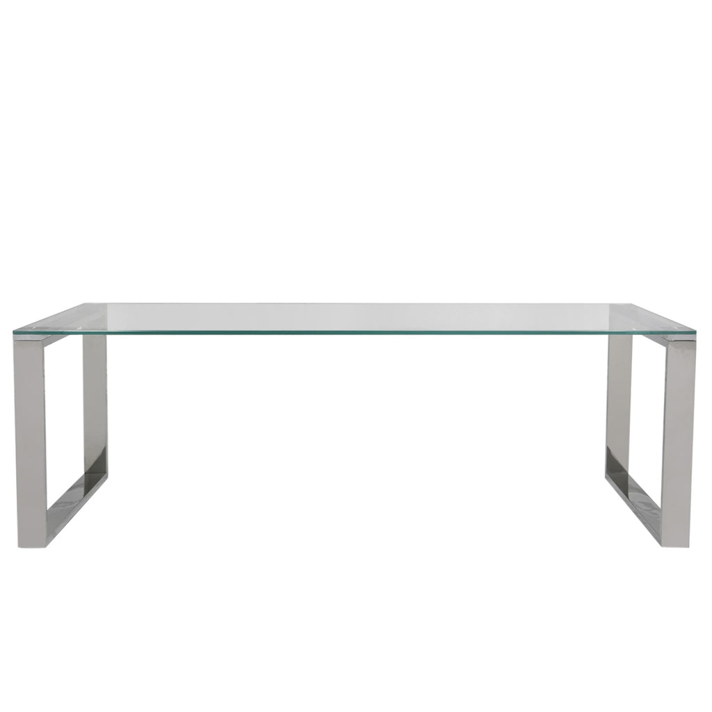 Essential Glass Top Coffee Table