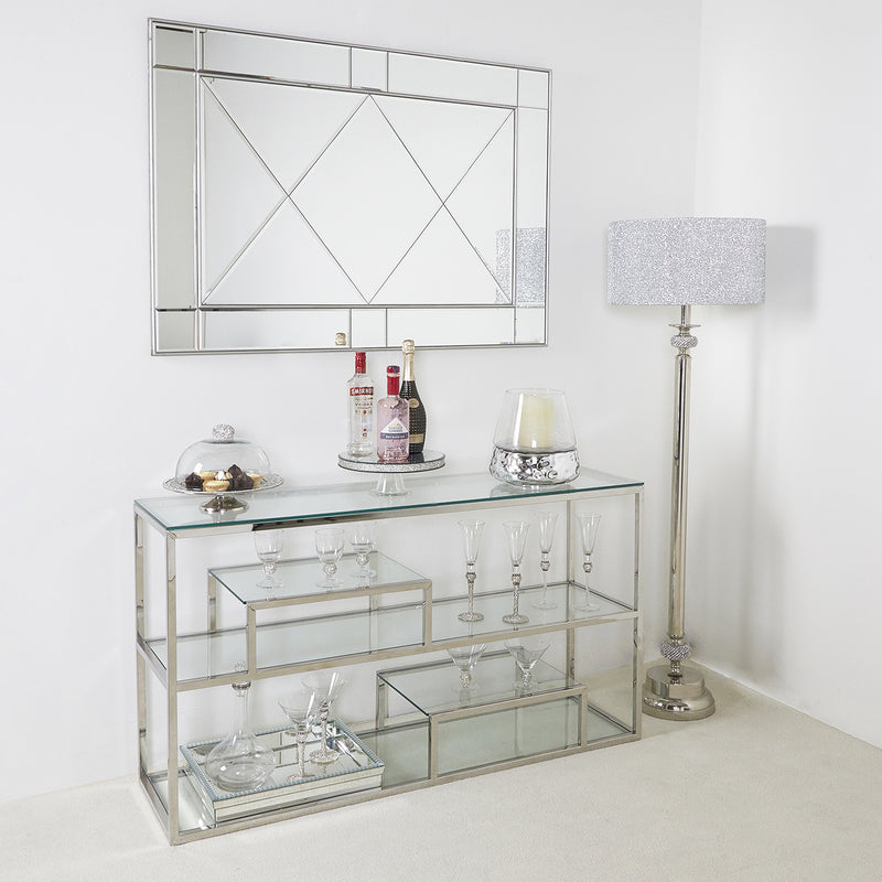 Arden Tiered Console Table
