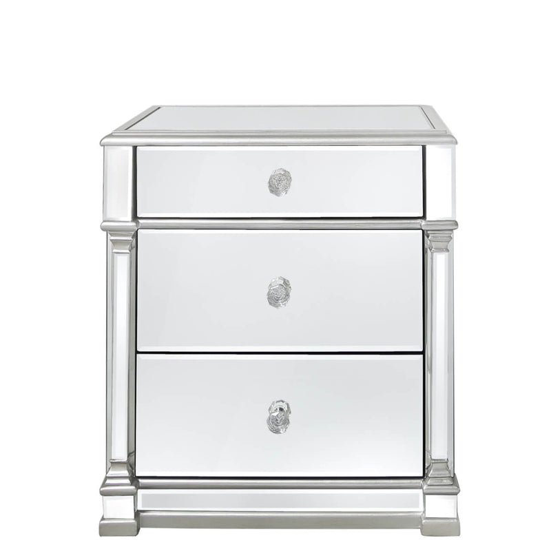 Silver Ada Bedside Table