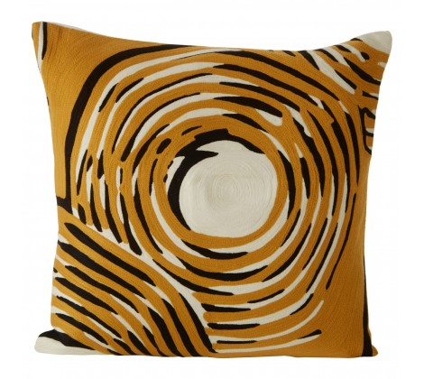 Geometric Diamond Cushion
