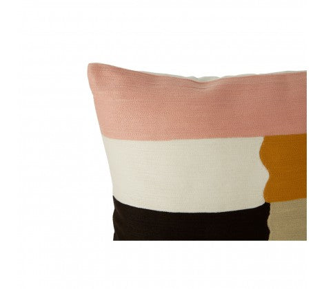 Neutral Patch Cushion