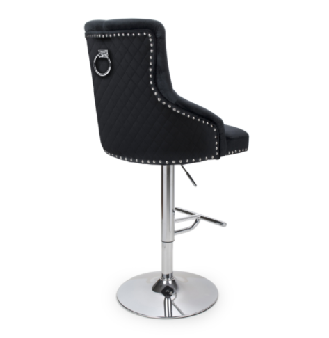 Black Mason Bar Stool