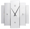 White Outline Clock