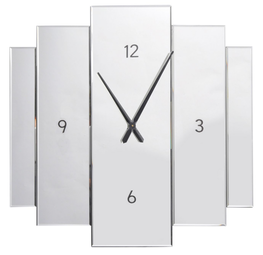 Clara Mirrored Wall Clock