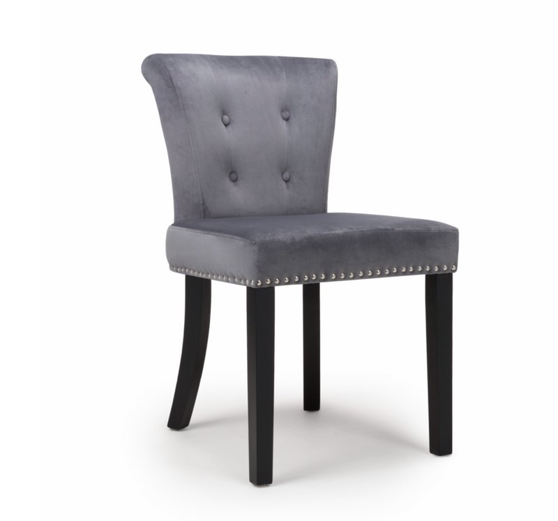 Set of 2 Clermont Grey Accent Chairs