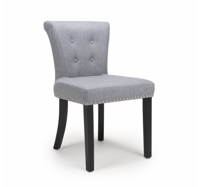 Set of 2 Silver Clermont Accent Chairs