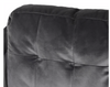 Grey Velvet Loveseat