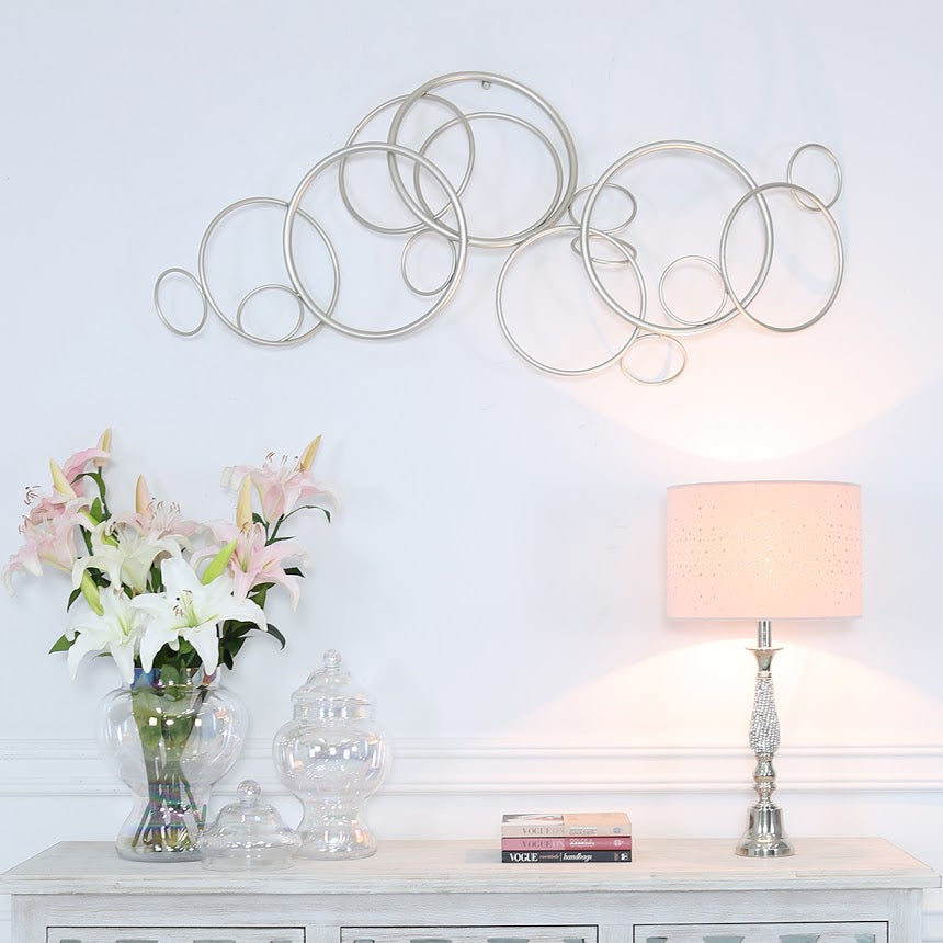 Interlocking Circles Wall Art