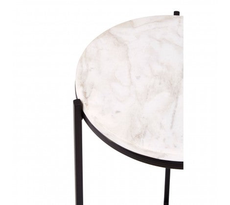 Angus Marble Side Table