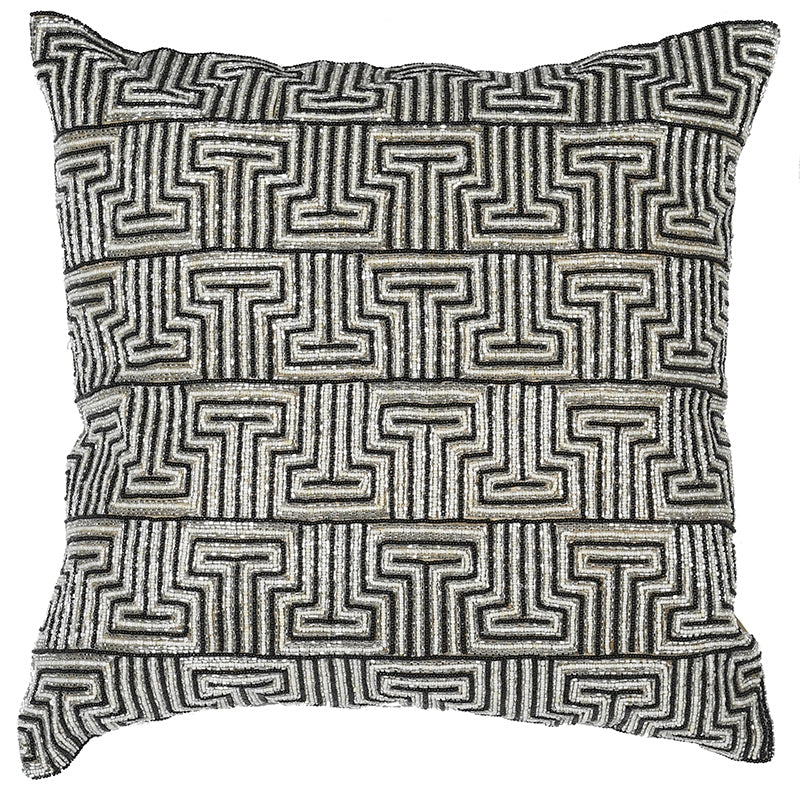 Gatsby Black And Gold Cushion Cover