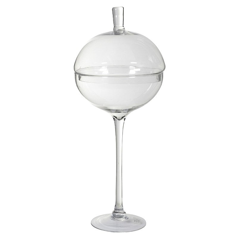 Tall Glass Bonbon Jar