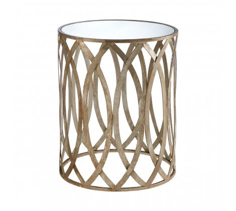 Boutique Gold Side Table