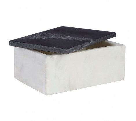 Large Marble Trinket Box