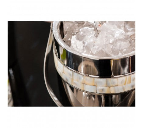 Mother Of Pearl Ice Bucket